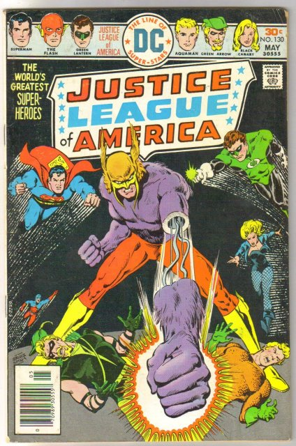 Justice League of America #130 very good/fine 5.0