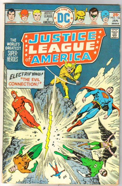 Justice League of America #126 very good/fine 5.0