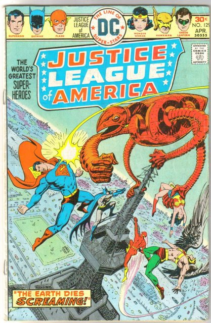 Justice League of America #129 very good/fine 5.0