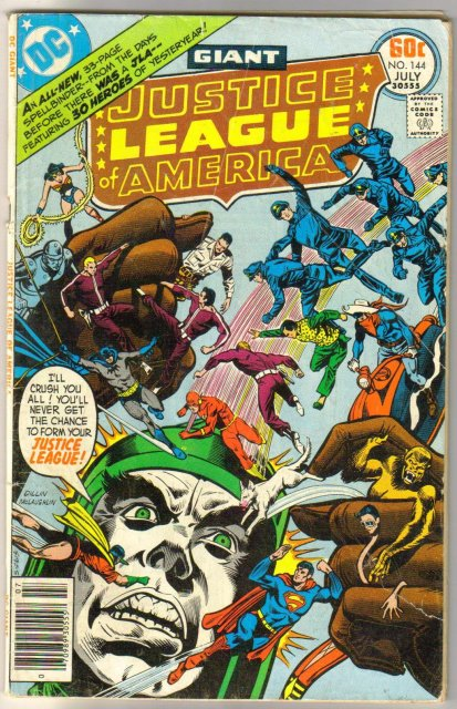 Justice League of America #144 comic book very good 4.0