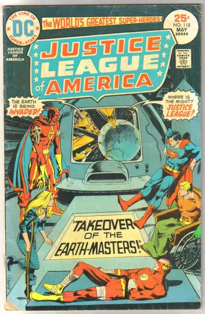 Justice League of America #118 comic book very good 4.0