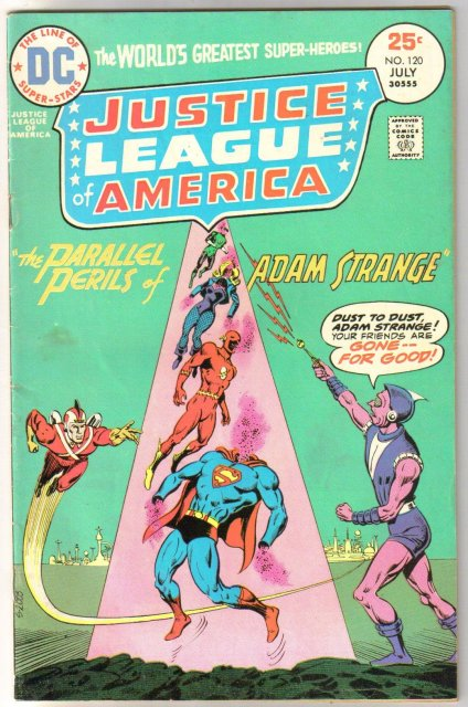 Justice League of America #120 comic book fine 6.0