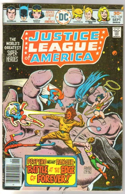 Justice League of America #134 comic book fine/very fine 7.0