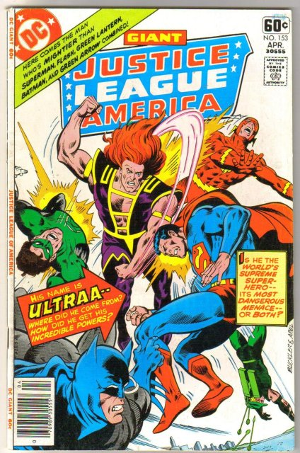 Justice League of America #153 comic book fine/very fine 7.0