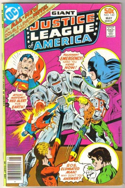 Justice League of America #142 comic book near mint 9.4