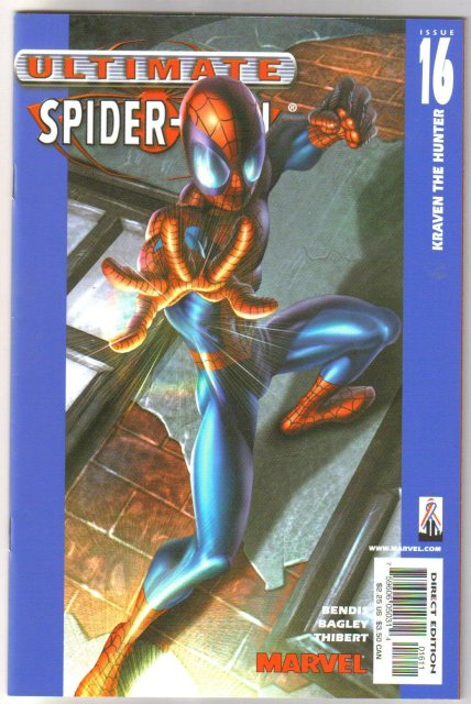 Ultimate Spider-man #16  comic book mint 9.8