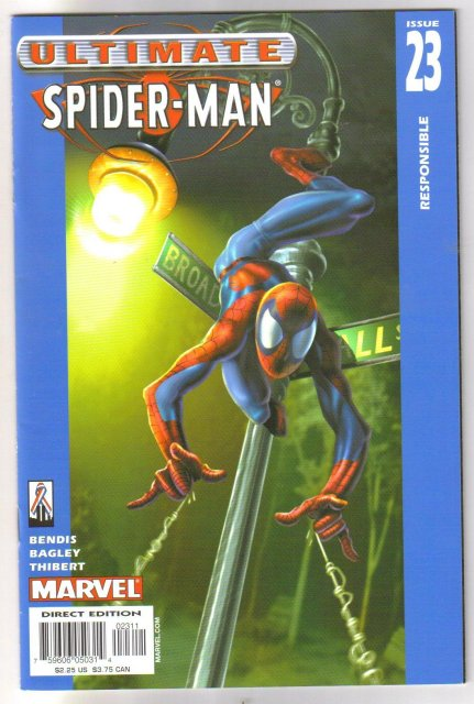 Ultimate Spider-man #23  comic book mint 9.8