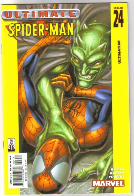 Ultimate Spider-man #24  comic book mint 9.8