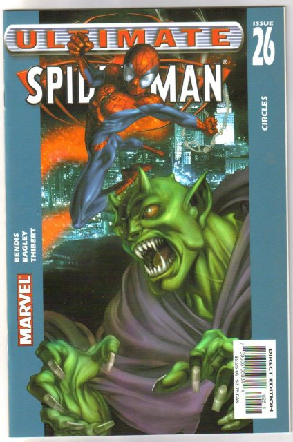 Ultimate Spider-man #26  comic book mint 9.8