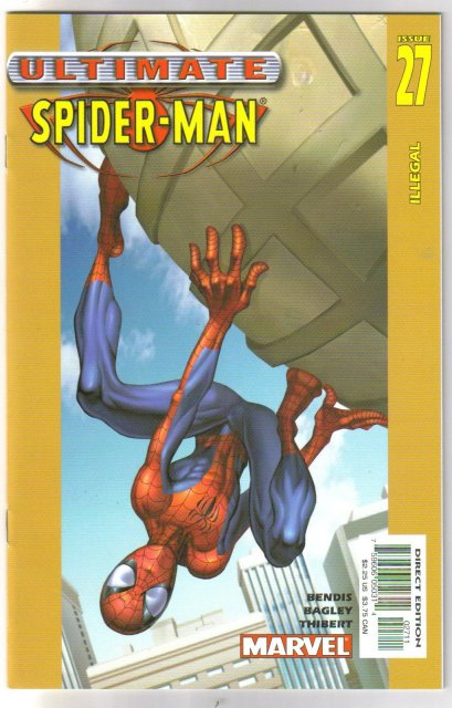 Ultimate Spider-man #27  comic book mint 9.8