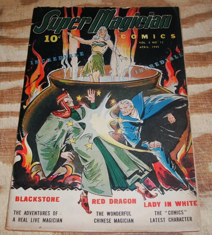 Super Magician vol 3 #12 fine 6.0