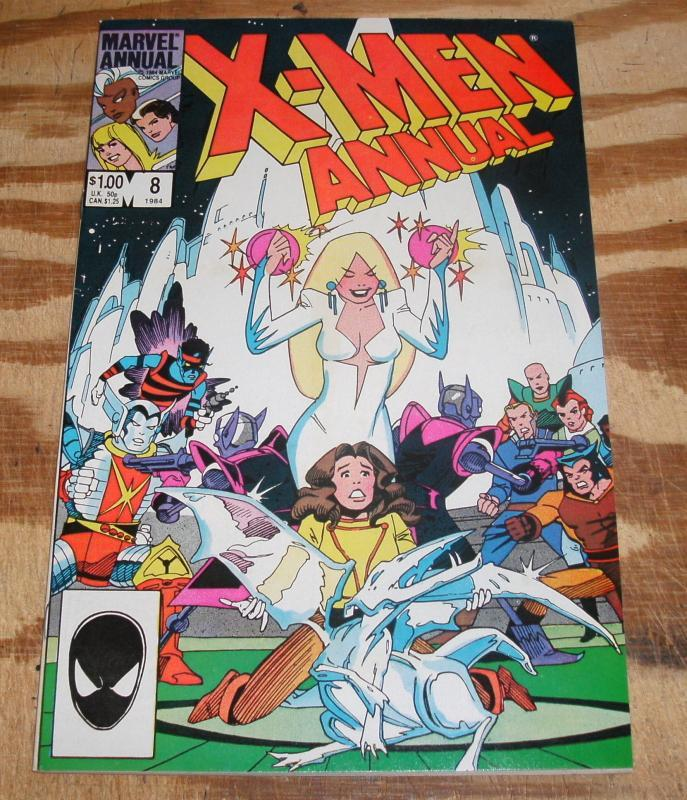 The Uncanny X-Men Annual #8 near mint 9.4