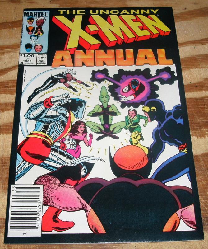 The Uncanny X-Men Annual #7 near mint/mint 9.8