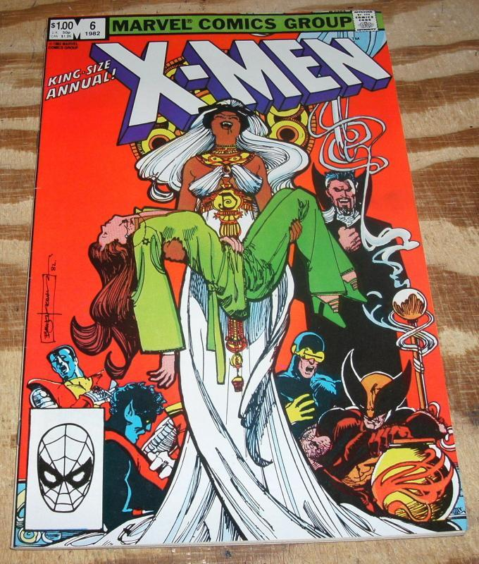 X-Men Annual #6 near mint 9.4