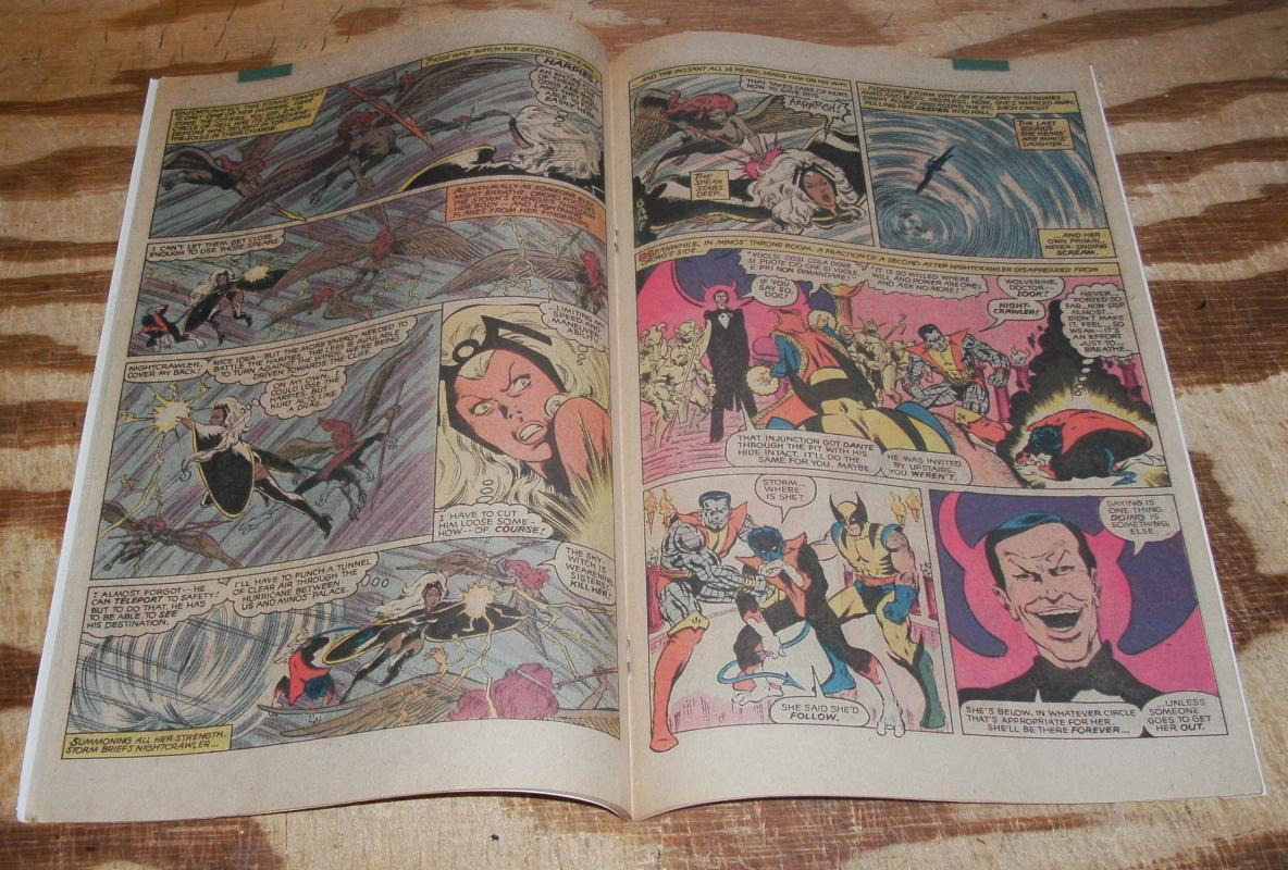 The Uncanny X-Men Annual #4 near mint 9.4