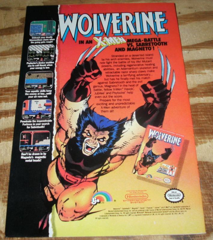Uncanny X-Men #282 comic book very fine/near mint 9.0