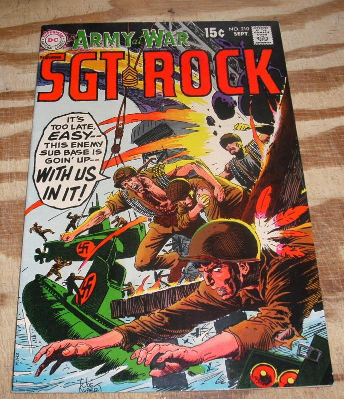 Our Army at War featuring Sgt. Rock #210 near mint 9.4