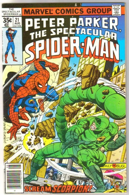 Peter Parker The Spectacular Spider-man #21  comic book near mint 9.4