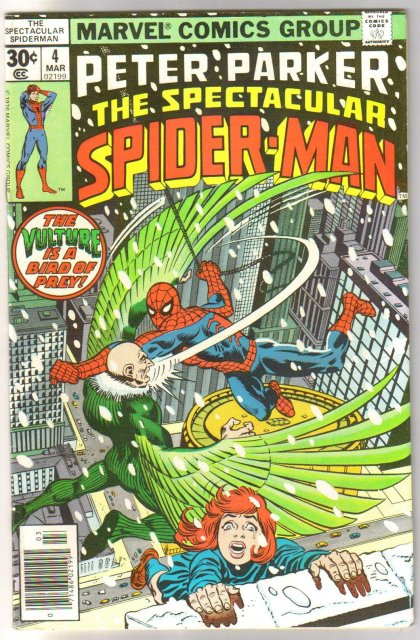 Peter Parker The Spectacular Spider-man #4 comic book very fine/near mint 9.0