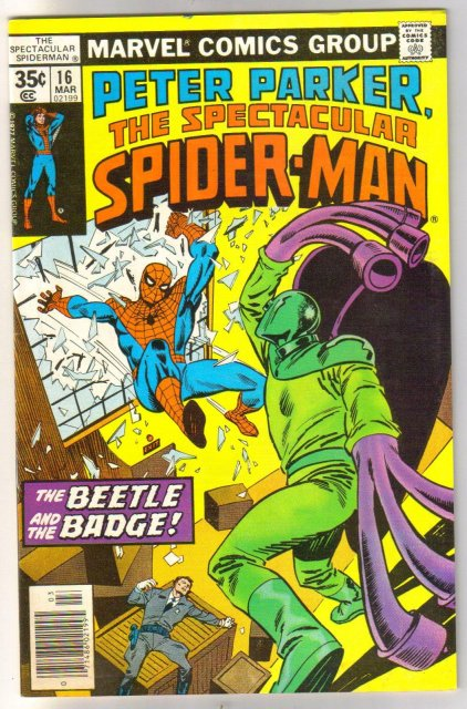 Peter Parker The Spectacular Spider-man #16 comic book very fine/near mint 9.0