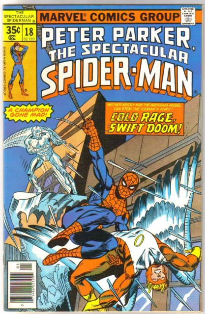 Peter Parker The Spectacular Spider-man #18 comic book very fine/near mint 9.0