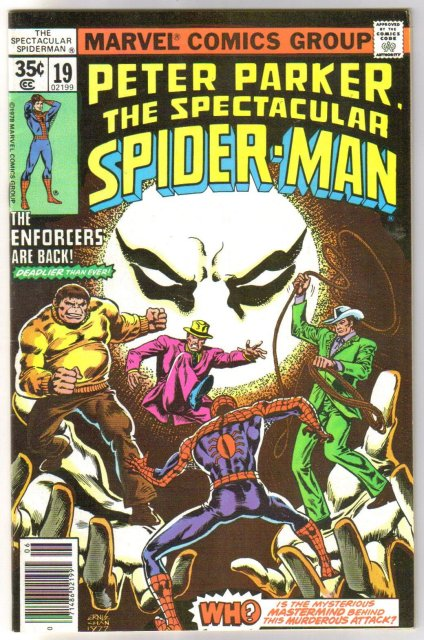 Peter Parker The Spectacular Spider-man #19 comic book very fine/near mint 9.0