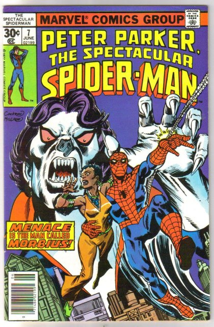 Peter Parker The Spectacular Spider-man #7 comic book very fine 8.0
