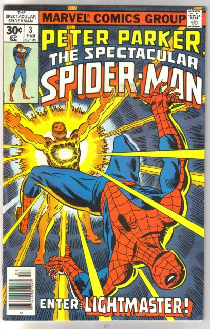 Peter Parker The Spectacular Spider-man #3 comic book fine/very fine 7.0