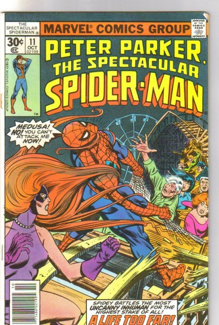 Peter Parker The Spectacular Spider-man #11 comic book fine/very fine 7.0