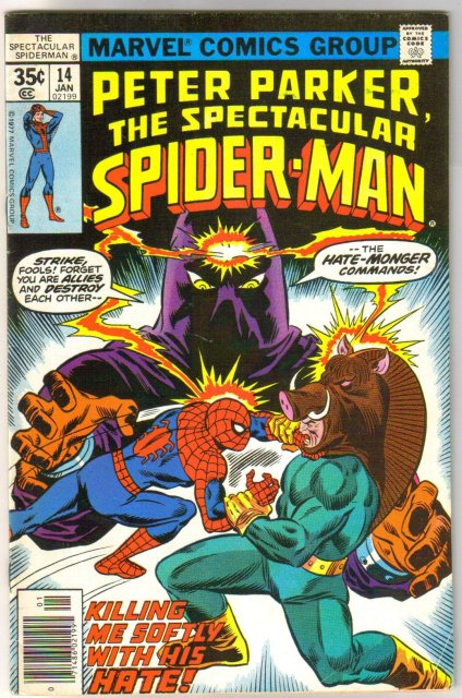 Peter Parker The Spectacular Spider-man #14 comic book fine 6.0