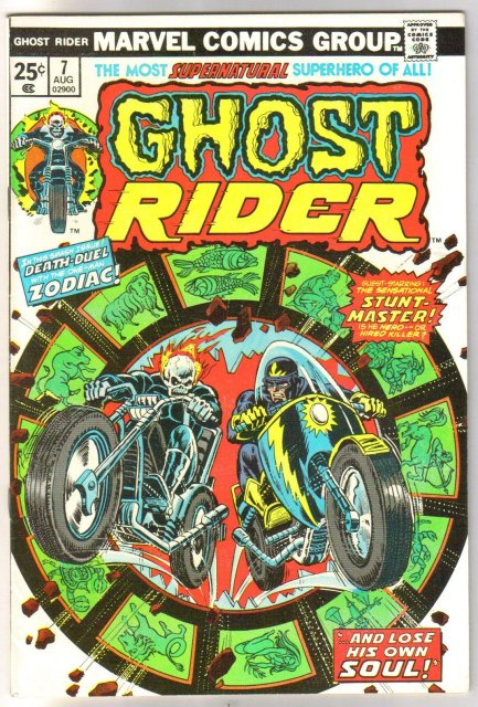 Ghost Rider #7 comic book near mint 9.4