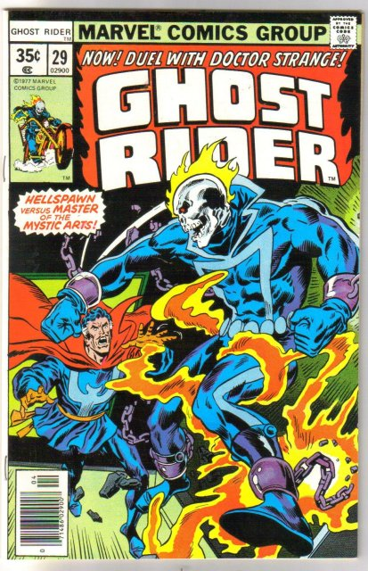 Ghost Rider #29 comic book near mint 9.4