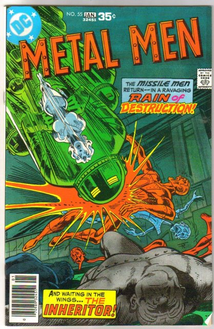 Metal Men #55 comic book very fine 8.0