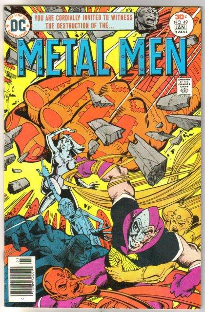 Metal Men #49 comic book very fine/near mint 9.0