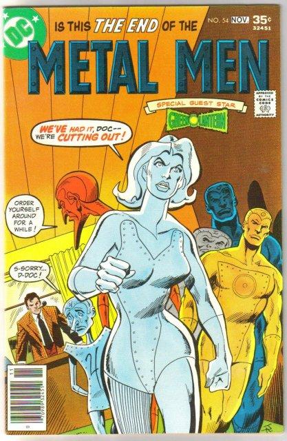 Metal Men #54 comic book near mint 9.4