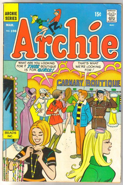 Archie Comics #198 comic book very good 4.0