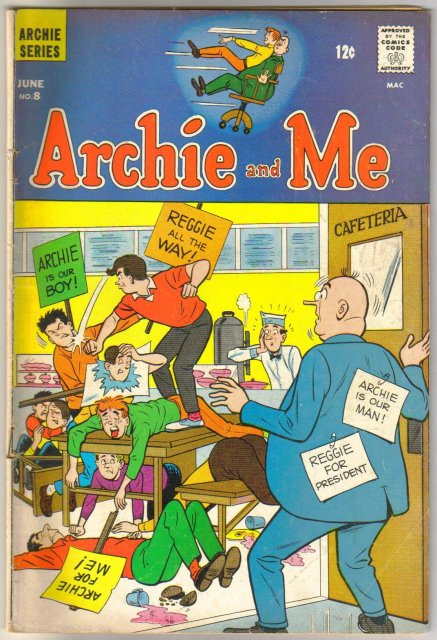 Archie and Me #8 comic book very good 4.0