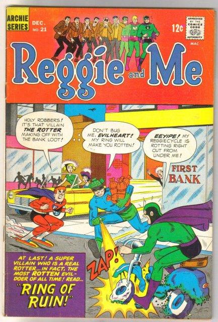 Reggie and Me #21 comic book fine 6.0