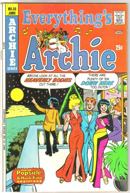Everything's Archie #33 comic book very fine/near mint 9.0