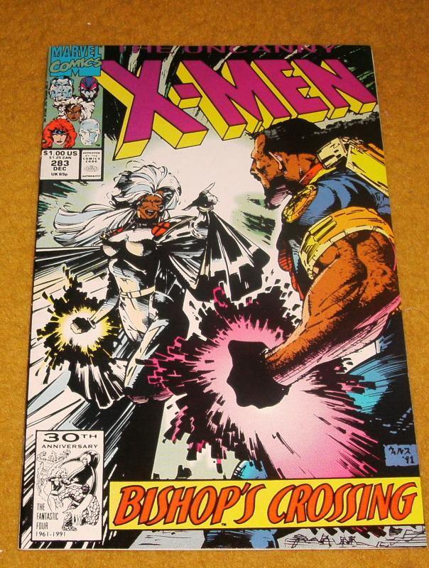 The Uncanny X-Men #283 comic book near mint 9.4
