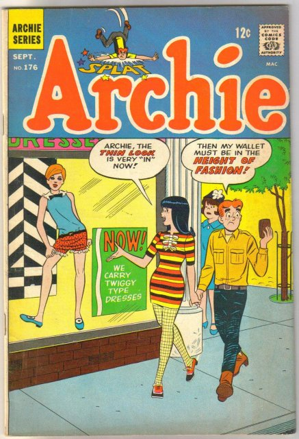 Archie Comics #176 comic book fine 6.0