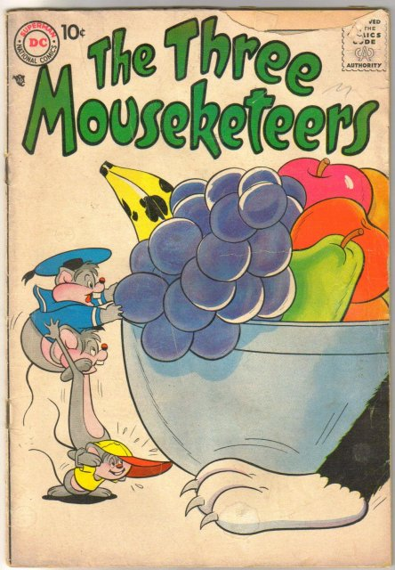 The Three Mouseketeers #10 comic book good/very good 3.0