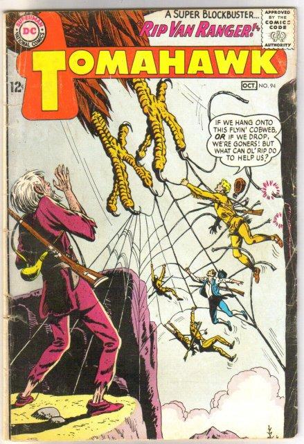 Tomahawk #94 comic book very good 4.0