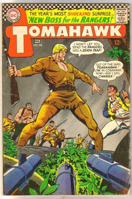 Tomahawk #108 comic book very good 4.0