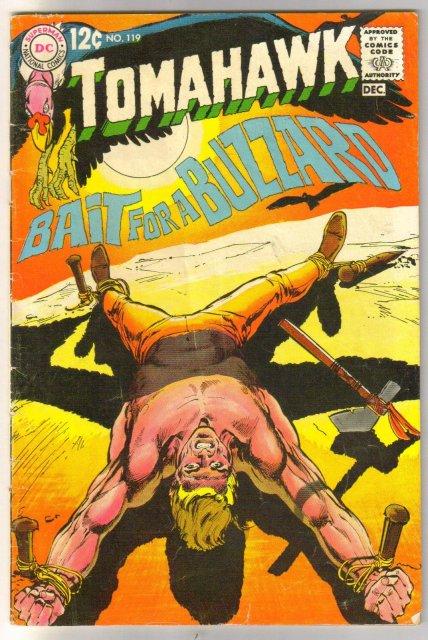 Tomahawk #119 comic book very good 4.0