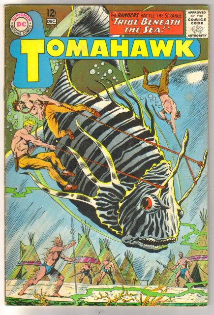 Tomahawk #95 comic book very good/fine 5.0