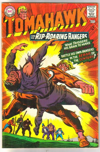 Tomahawk #112 comic book very good/fine 5.0