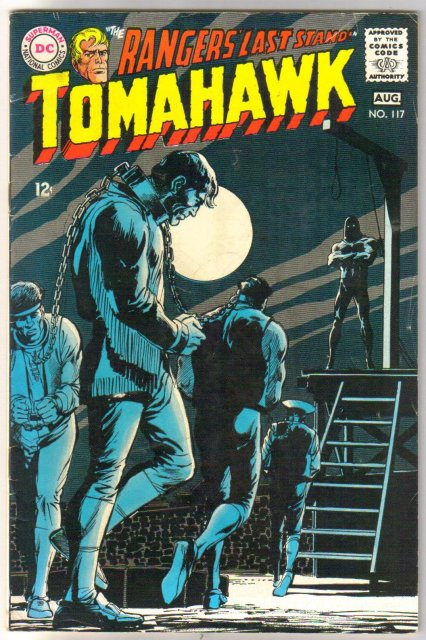 Tomahawk #117 comic book very good/fine 5.0
