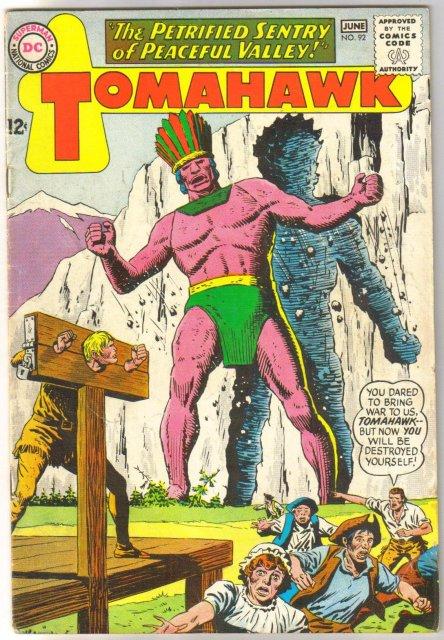 Tomahawk #92 comic book fine 6.0