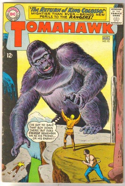 Tomahawk #93 comic book very fine 8.0
